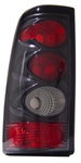 03-06 Silverado Tail Lamps, Carbon, by AnzoUSA