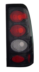 99-02 Silverado Tail Lamps, Carbon, by AnzoUSA