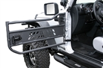 2007-12 Jeep JK Aluminum Tubular Doors by Aries in Black Textured Finish AO-15009