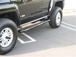 Hummer H3 Black Side Bars by Aries