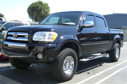 "04-06 Tundra Double Cab 4"" Oval Side Bars by Aries"