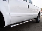 "99-08 Superduty/Excursion 4"" Oval Side Bars by Aries"