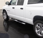 "02-08 Ram 4"" Oval Side Bars by Aries"