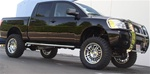 "04-08 Titan 4"" Oval Side Bars by Aries"