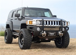 Hummer H3 Stainless Steel Brushguard by Aries Offroad
