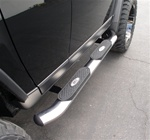 "07-09 FJ Cruiser 4"" Deluxe Oval Side Bars by Aries"