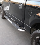 "99-08 Superduty/Excursion 4"" Deluxe Oval Side Bars by Aries"