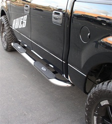 "04-07 F-150/250 4"" Deluxe Oval Side Bars by Aries"