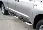 "04-08 Titan 4"" Deluxe Oval Side Bars by Aries"