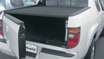 "2005-2007 Honda Ridgeline Premier Hard Folding Tonneau Cover with ""Ragtop"" Look by Advantage Truck Accessories"