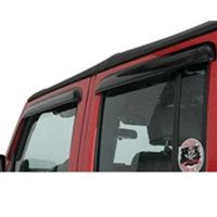 Ventvisor - 07 Jeep Wrangler Rain Guards by AVS