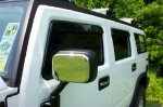 Hummer H2 In Channel Rain Guard Auto Vent Shades By Ventshade (Set of 4)