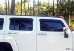 Hummer H3 Rain Guard Auto Vent Shades (Set of 4)