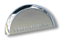 Hummer H2 License Plate Dome Cover - Chrome