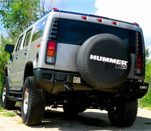 Hummer H2 Spare Tire Cover by Boomerang
