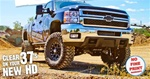 "6.5"" High Clearance Lift Kit - 2011+ Chevy/GMC 2500/3500HD 4WD Gas/Diesel by BDS"