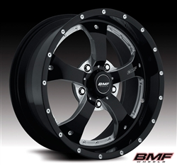 wheels, BMF, BMF Wheels, black, Chrome, satin black, satin,  BMF-226001