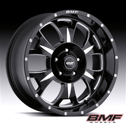 wheels, BMF, BMF Wheels, black, Chrome, satin black, satin,  BMF-226002
