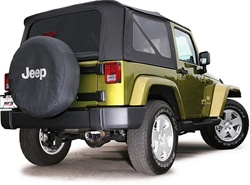 2007-2008 Jeep Wrangler 4 Door Exhaust by Borla