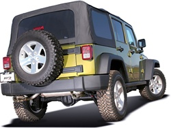 2007-2008 Jeep Wrangler 2 Door Exhaust by Borla