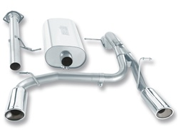 Hummer H2/SUT 2008 6.2L Borla Cat-Back Exhaust