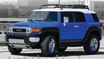 FJ Cruiser Pocket Style Fender Flares by Bushwacker