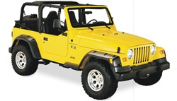 97-06 Jeep Wrangler Euro Rubicon Conversion Package by Bushwacker