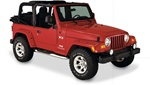 "97-06 Jeep Wrangler Pocket Style Fender Flares (4¾"") by Bushwacker"