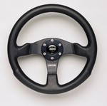 H1 Momo Competition Steering Wheel w/ Hub Adaptor