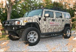 HUMMER H2/ H2 SUT /Truck/SUV Camo Kit (280 sq. ft. - 14 Sheet Kit)