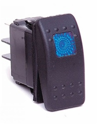 Daystar Rocker Switch in Blue for 07-08 Jeep® Wrangler & Wrangler Unlimited JK