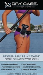 Sports-Belt by DryCASE for Active Sports, Paddle Boarding, Running, Biking and Swimming by DryCase