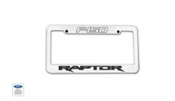 Ford Raptor Billet License Plate Frame DEF-901151