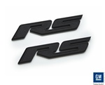 "2010 Camaro Black ""RS"" Badges by Defenderworx"