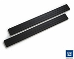 2010 Camaro Black Logo Door Sills Set by Defenderworx