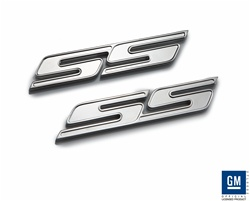 "2010 Camaro Chrome ""SS"" Badges by Defenderworx"