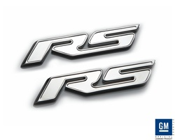 "2010 Camaro Chrome ""RS"" Badges by Defenderworx"