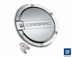 2010 Camaro Chrome Locking Fuel Door by Defenderworx