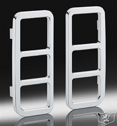 H2/SUT Chrome Billet Tail Guards by Defenderworx