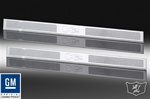 H2/SUT Chrome Billet Door Sills by Defenderworx (Set of 4)