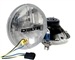 "'76-'86 Jeep CJ DOT 7"" Waterproof Headlight Hi/Lo Beam 60/55W by Delta DEL-01-1149-50X"