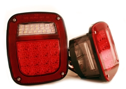 '81-'86 Jeep LED Left Tail Light by Delta DEL-01-1974-LEDL