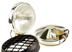 "Delta 100 SERIES 6"" THINLINE XENON FOG LIGHT KIT - CHROME, 55W"