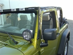 '07-'08 Jeep TJ T-Bracket 150 Kit - Driving Lights w/ T-Brackets by Delta DEL-01-6515-TJB