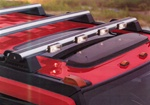 HUMMER H2 H.I.D H-RACK Light Bar by Delta