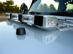 JK Hood Light Bar for Jeep Wrangler ('07-'08) by Delta