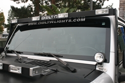 SkyBar™ w/ 4 HIDLights for JEEP JK & TJ DEL-01-9570-HID4