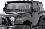 JEEP JK & TJ Super SkyBar w/ 6 Xenon Lights and LED Cab Lights By Delta DEL-01-9572-10XB