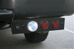 Twin-Bar Rear Bar 5-Functions by Delta - LED Stop/Turn / Xenon Backup + Backup Sensors & Camera DEL-01-9586-CAS