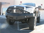 06-08 2500/3500 Dodge Heavy Duty Winch Bumper w/ Pre-runner Grill Guard by Fab Fours